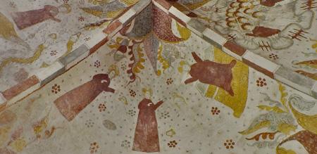 Фрески в церквях Дании