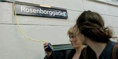 Говорящие таблички в центре Копенгагена
